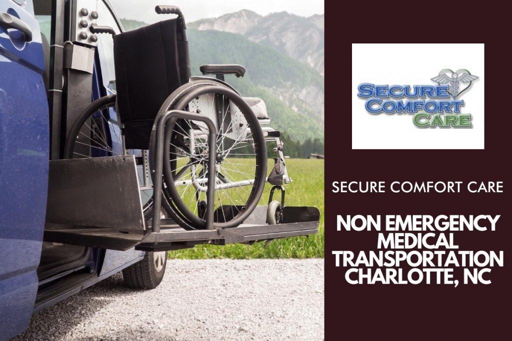 Non emergency medical transportation Charlotte, nc